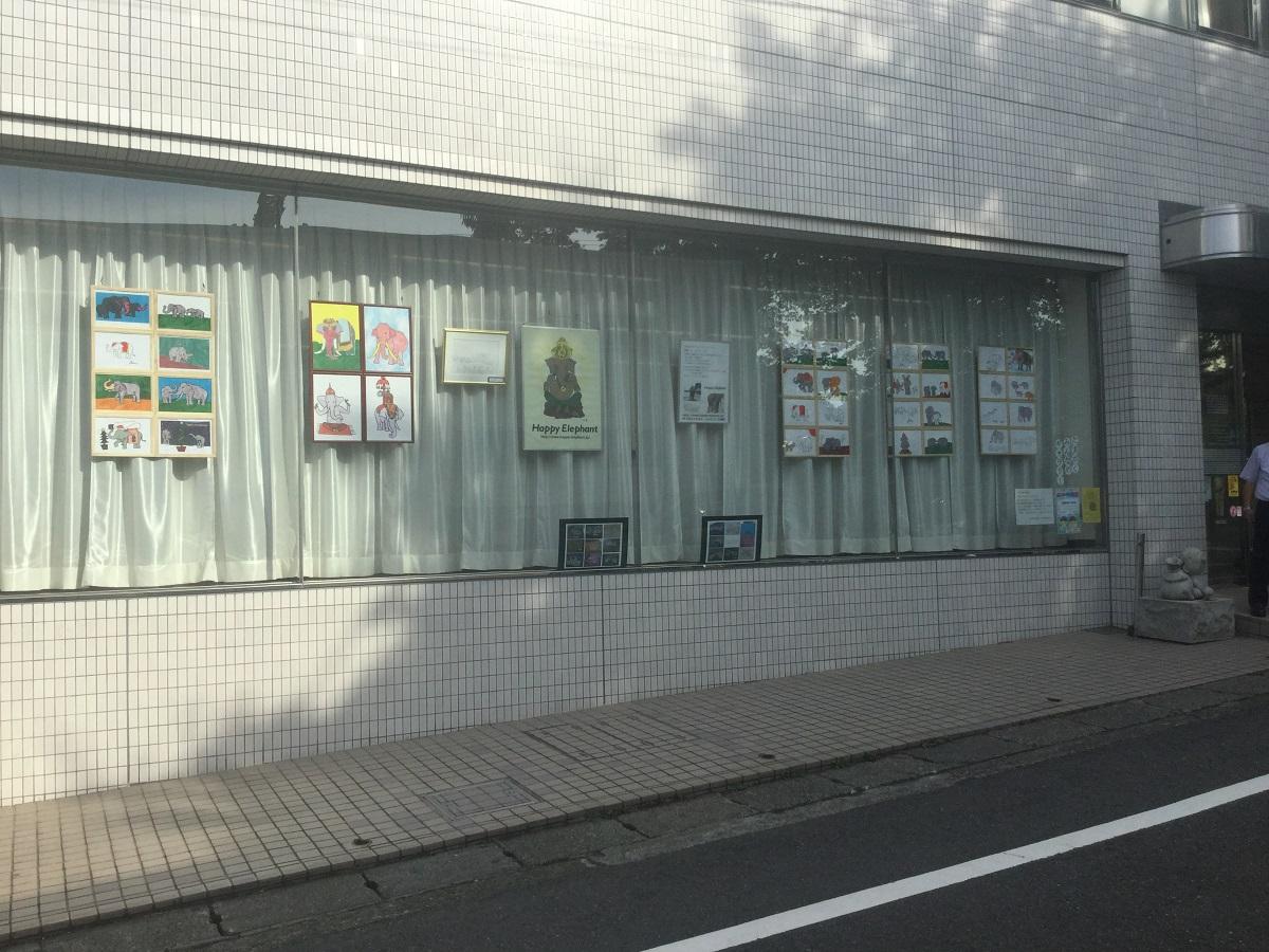 玉川学園前駅展示