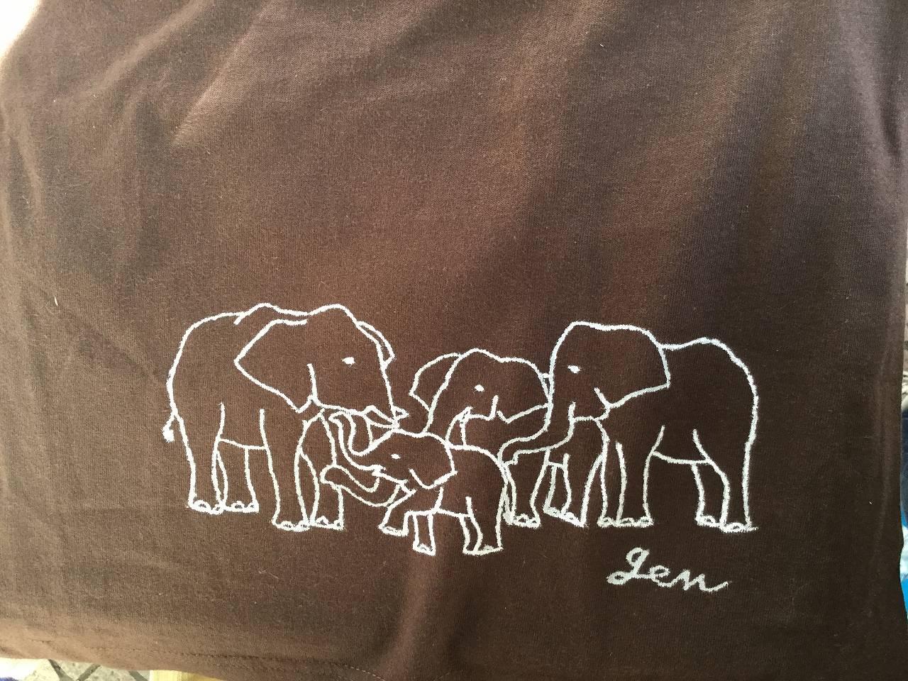 アフリカゾウ家族